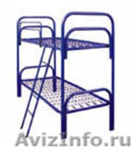 кровати одноярусные, кровати металлические двухъярусные для общежитий и больниц - Изображение #3, Объявление #695647