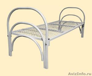 Кровати металлические для рабочих, гостиниц, лагеря - Изображение #6, Объявление #906543