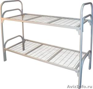 Кровати металлические для рабочих, гостиниц, лагеря - Изображение #3, Объявление #906543