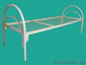 Кровати металлические для рабочих, гостиниц, лагеря - Изображение #7, Объявление #906543
