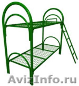 Кровати металлические для рабочих, гостиниц, лагеря - Изображение #8, Объявление #906543