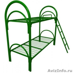 Кровати металлические трёхъярусные, кровати для общежитий, кровати для гостиниц, - Изображение #3, Объявление #1480251