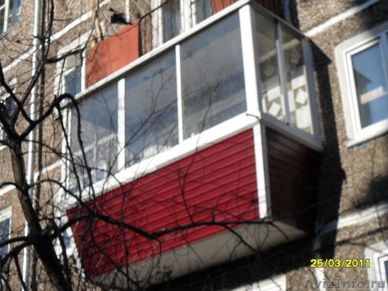 Компания спец.монтаж предлагает остекление балконов, установ.