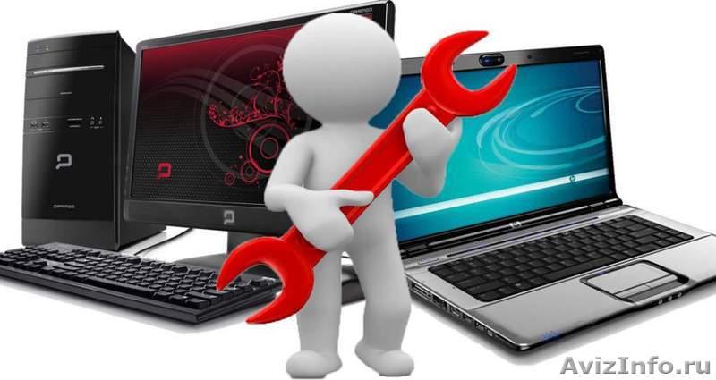 Ремонт и обслуживание компьютеров и ноутбуков. Компьютерная помощь, Объявление #1237468